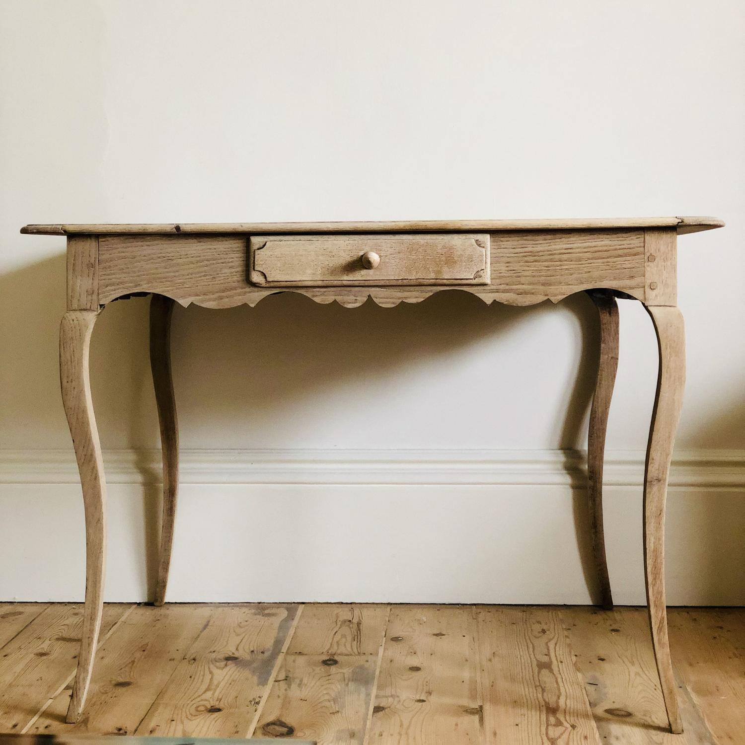 French antique oak Louis XV table