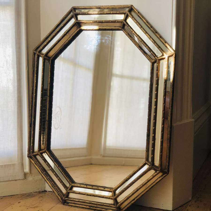 Antique French decorative mirror