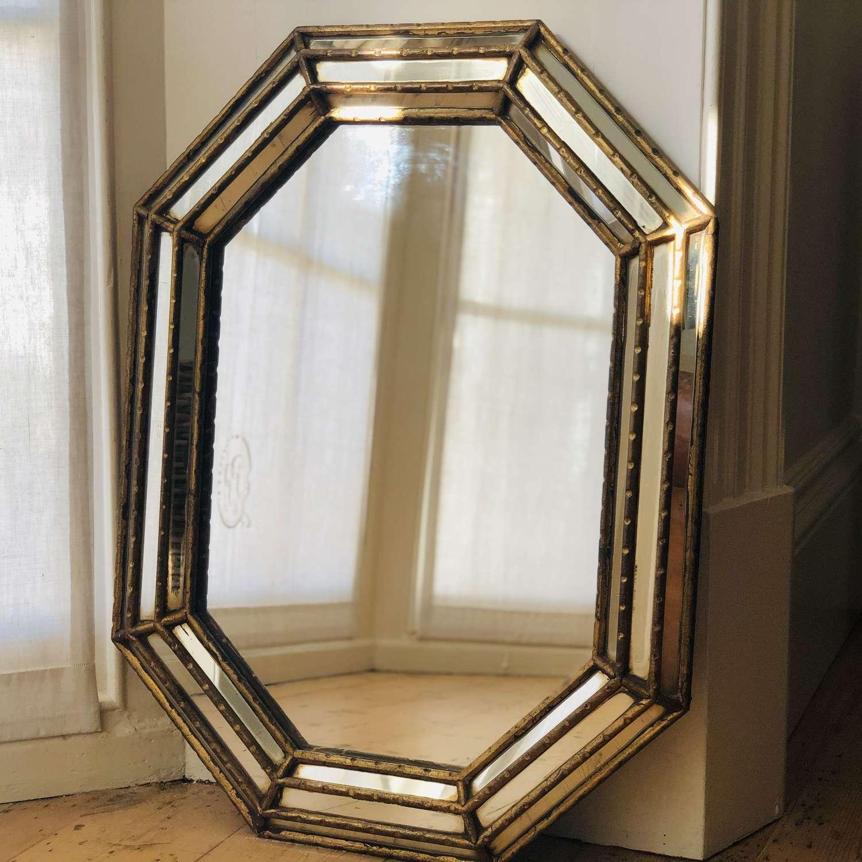Antique French decorative mirror