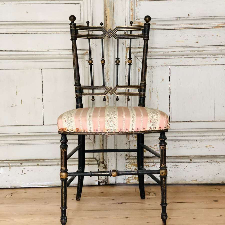 19th century French chair - original paint
