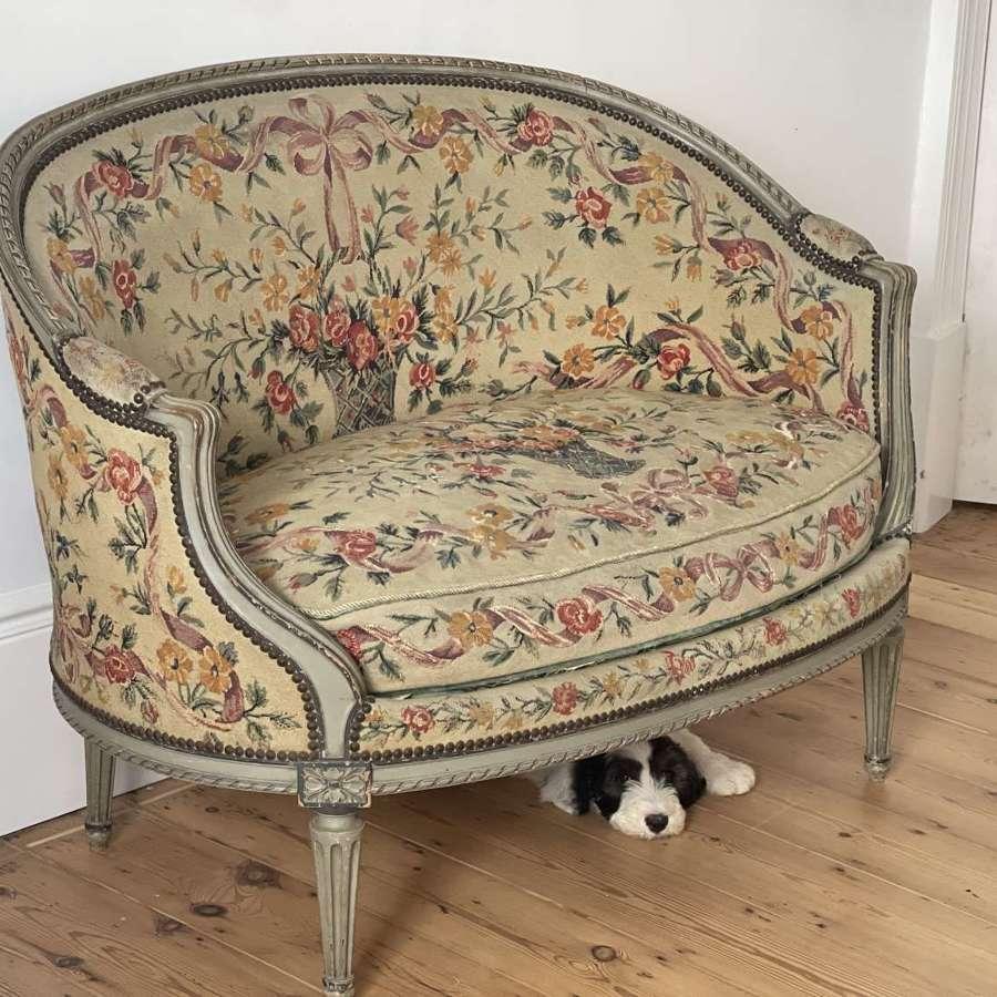 Antique French Louis XVI sofa