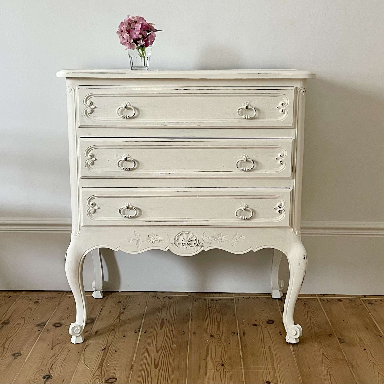 Antique French Louis XVI chest of drawers