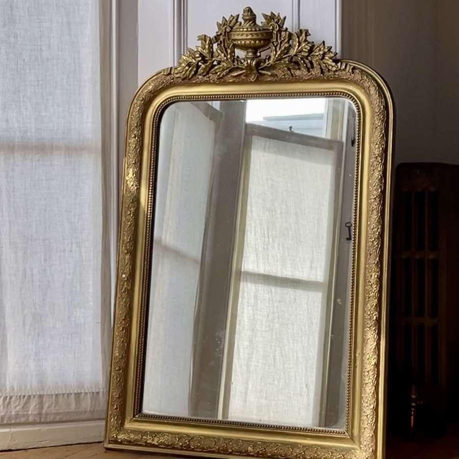 Antique French Louis XV mirror